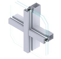 Aluminijske fasade EUROLINE 50 F