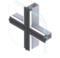 Aluminijske fasade EUROLINE 50 FG