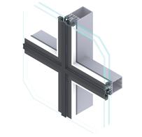 Aluminijske fasade EUROLINE 50 FS