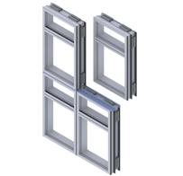 Aluminijske fasade EUROLINE 85 ML