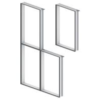 Aluminijske fasade EUROLINE 90 MLS