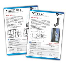 Serije profila NEWTECT 65 TT i EKU 66 TT