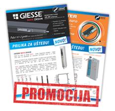 Promocija GIESSE i MASTER artikla