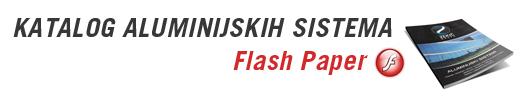 Katalog aluminijskih sistema - Flash Paper